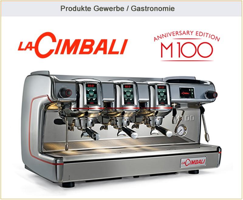 Intega Kaffeemaschinen -> Kaffeemaschine Cimbali